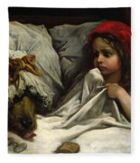 Little Red Riding Hood Fleece Blanket