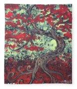 Little Red Tree Series 3 Fleece Blanket