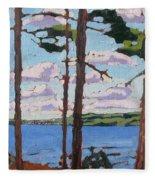 Little Rideau Lake Fleece Blanket