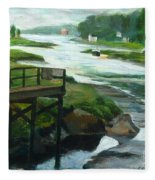 Little River Gloucester Study Fleece Blanket