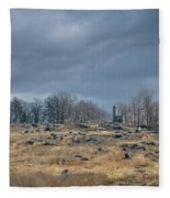 Little Round Top Fleece Blanket