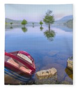 Little Rowboat Fleece Blanket