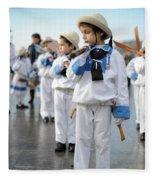 Little Sailors Fleece Blanket