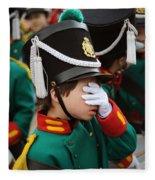 Little Soldier I Fleece Blanket