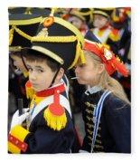 Little Soldiers II Fleece Blanket