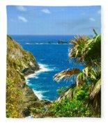 Little Tobago  Fleece Blanket