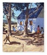Little White House Karoo South Africa Fleece Blanket
