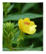 Little Yellow Flower Fleece Blanket