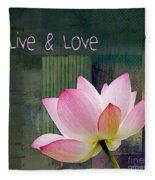 Live N Love - - 0333-15a Fleece Blanket