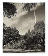 Live Oaks Fleece Blanket