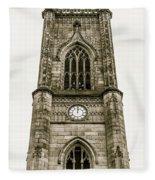 Liverpool Church Of St Luke - Tower B Fleece Blanket