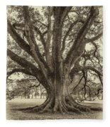 Living History Sepia Fleece Blanket