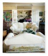 Living Room Iv Fleece Blanket