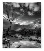 Llanberis, Wales Fleece Blanket