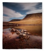 Llyn Y Fan Fach Black Mountain Fleece Blanket