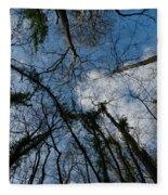 Loamhole Dingle Treetops Fleece Blanket