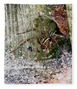 Lobo's Web Fleece Blanket