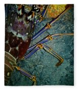 Lobster Fleece Blanket
