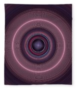 Local Subspace Vibrations Fleece Blanket