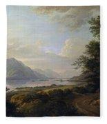 Loch Awe. Argyllshire Fleece Blanket