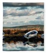 Loch Harray Dawn Iv Fleece Blanket