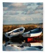 Loch Harray Dawn V Fleece Blanket