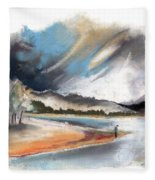Loch Laggan 03 Fleece Blanket