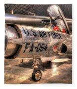 Lockheed F-94 Model C Starfire Fleece Blanket