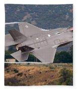 Lockheed Martin F-35 Lightning II, 2015 Fleece Blanket