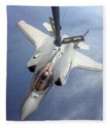 Lockheed Martin F-35 Lightning II, 2016 Fleece Blanket
