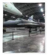 Lockheed Yf-12a Fleece Blanket