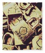 Locks From Sheriff Penitentiary Fleece Blanket