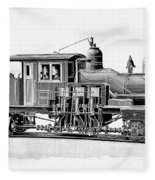 Locomotive, 1893 Fleece Blanket