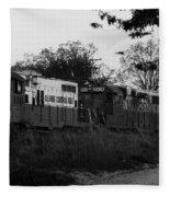 Locomotive 8241 Fleece Blanket