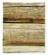 Log Files Fleece Blanket