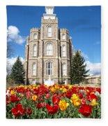 Logan Temple Fleece Blanket