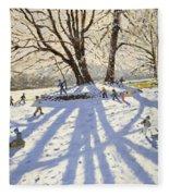 Lomberdale Hall Derbyshire  Fleece Blanket