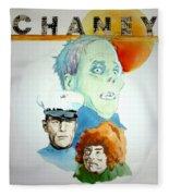 Lon Chaney Sr Fleece Blanket
