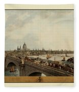 London 1802 Fleece Blanket