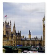 London 4 Fleece Blanket