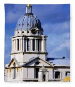 London Blues Fleece Blanket