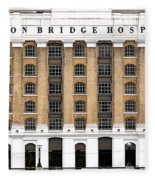 London Bridge Hospital Fleece Blanket