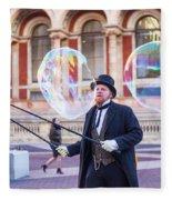 London Bubbles 4 Fleece Blanket