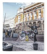 London Bubbles 8 Fleece Blanket