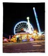London Christmas Markets 21 Fleece Blanket
