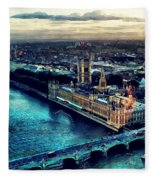 London City Fleece Blanket