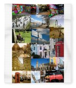 London Fleece Blanket