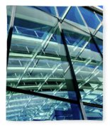London Sky Garden Architecture 1 Fleece Blanket