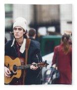 London Street Artists 3 Fleece Blanket