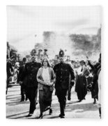 London Suffragettes, 1914 Fleece Blanket